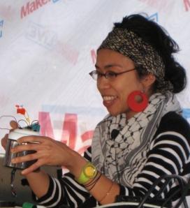 Arlene Ducao at Maker Faire